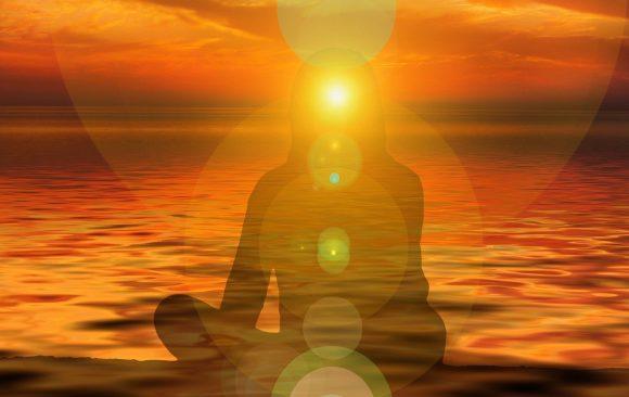 Meditation,Stille,Aura